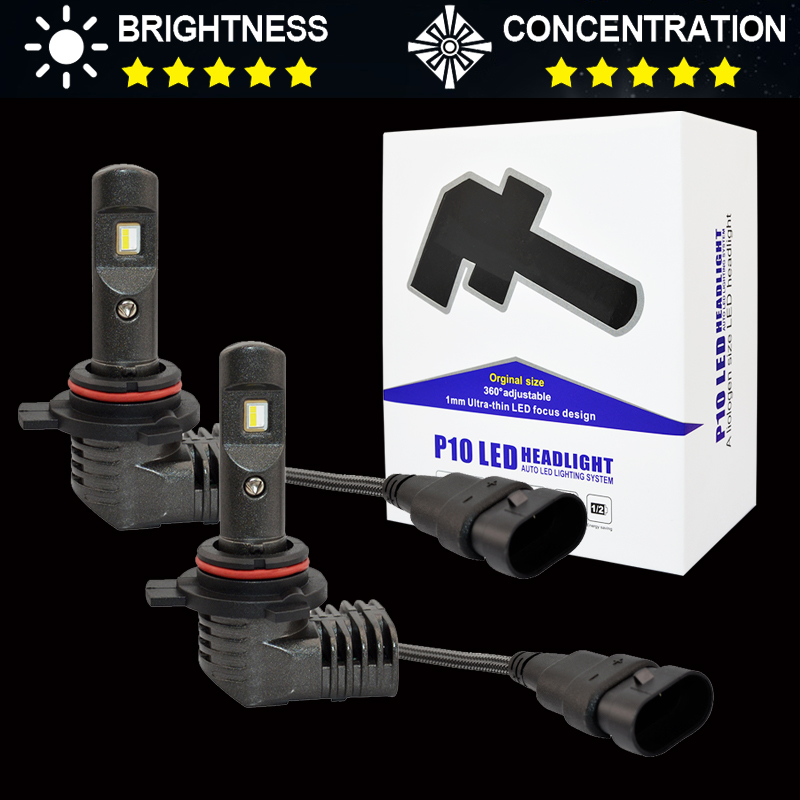 Mini Size 9012 50W 5600Lm/Set Car <font><b>Led</b></font> Headlight Bulbs Auto <font><b>Led</b></font> Headlamp Fog Lamp H8 <font><b>H7</b></font> H9 9005 HB3 9006 HB4 <font><b>CAN</b></font>-<font><b>bus</b></font> Car-Styling image