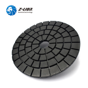 "Image 2 - Z LION 4 ""2 יחידות חובב יהלומים דיסק סוג יהלומי פוליש Pad עבור השיש אבן בלוק מראה Ceamic כרית מרוט מלטש דיסק"