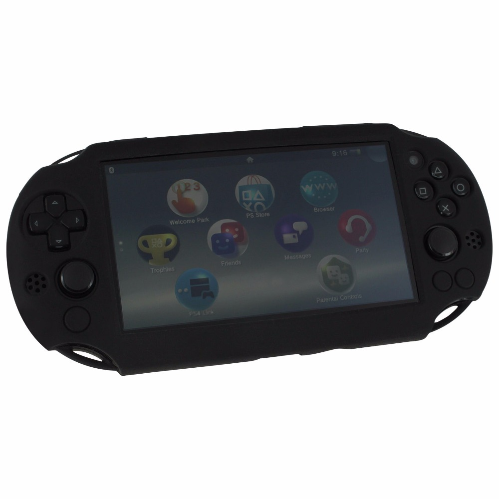 silicone skin protector gel cover case for Sony PS Vita