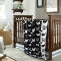 90*110 cm Colorido Moda Sandía Huevos Patrón de Tejer Una Manta de Bebé de Algodón Niños Como Productos de Cama Manta de Bebé 1 unids