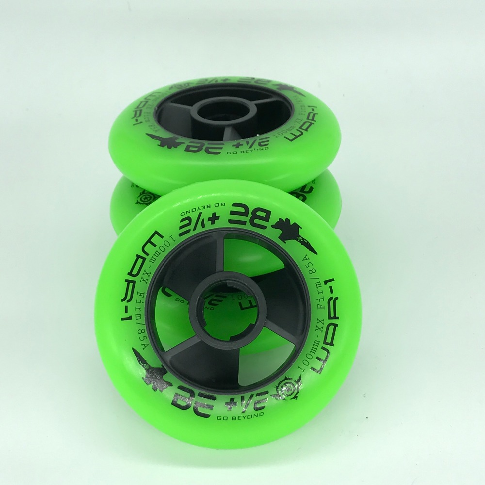 4 Piece 85A Inline Speed Skate Wheels 110mm Skates Wheel SHR 100mm 90mm xx firm PU Wear-Resisting <font><b>Roller</b></font> Skating Racing Rodas