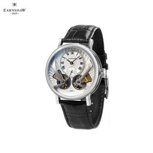 Наручные часы Earnshaw ES-8059-01 мужские механические с автоподзаводом на кожаном ремешке