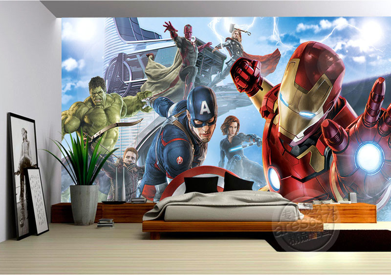 marvel kids bedroom