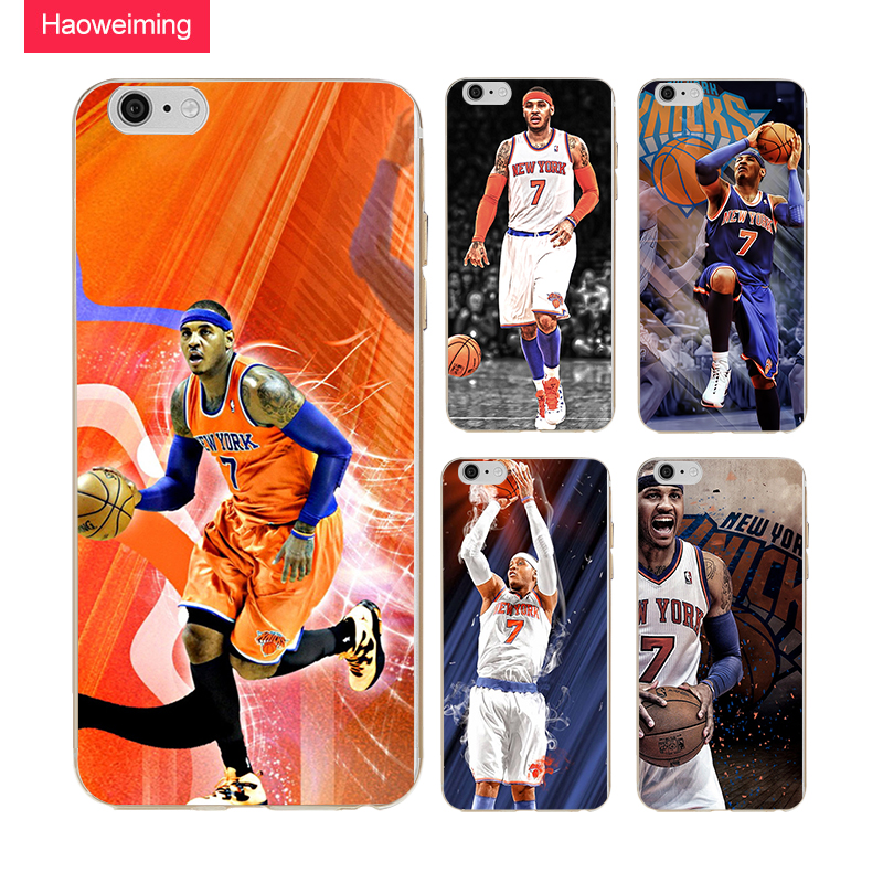 Carmelo Anthony Silicone Case For LG G5 G6 K4 K8 K10 2017 EU 2018 For HTC M9 M10 Desire 626 820 826 12 Plus U12 H512