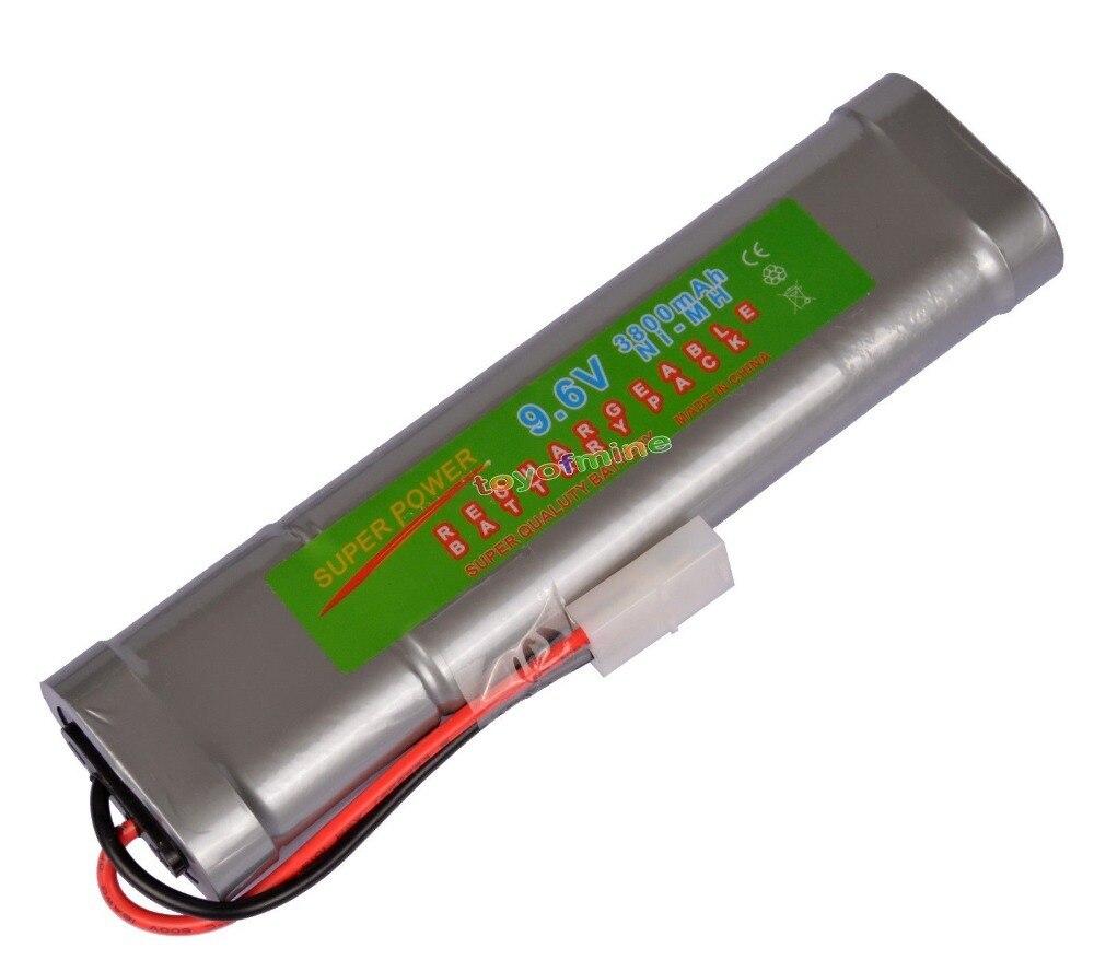 все цены на 1x 9.6V NiMH 3800mAh Super Power Rechargeable Battery Pack Car Tamiya Plug