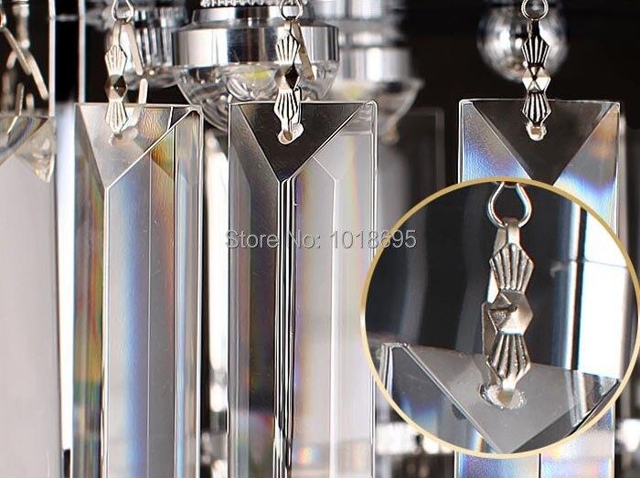 Современный светодиодный Кристалл Потолочный светильник Европейский K9 кристалл лампы крыльцо Гостиная балкон проходу огни фойе Освещение