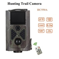 Hunting Trail Camera IR Night Vision Wildcamera 1080P Photo Traps Wildlife Camera Tracking Surveillance HC550A