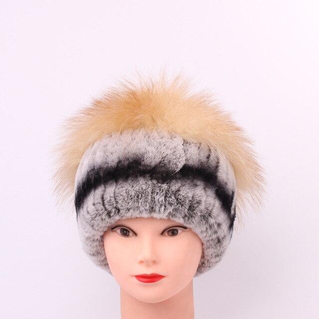 b5235a936935e Rex Rabbit s Hair Fur Ma am Hats Manual Sew High Archives Winter Keep Warm  Fox Woman