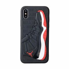 160ee0892363b1 Fashion 3D NBA Air Dunk Jordan Sports Basketball Shoes Soft Phone Cases For  iphone 6 6S 7 8 Plus X XS XR MAX 10 Back Cover Case