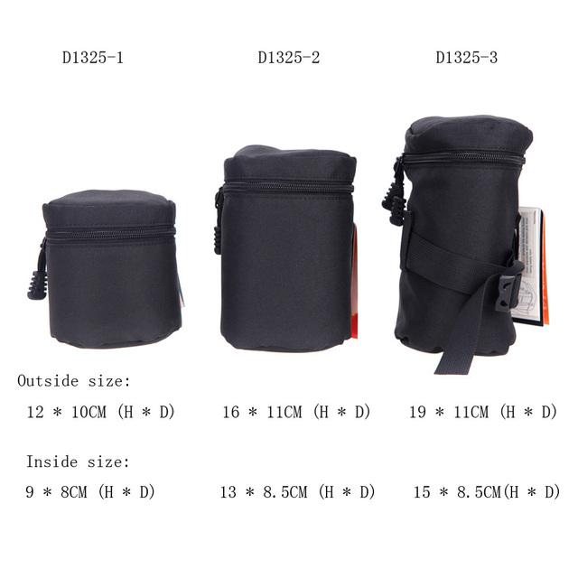 Waterproof Camera Lens Protective Bag