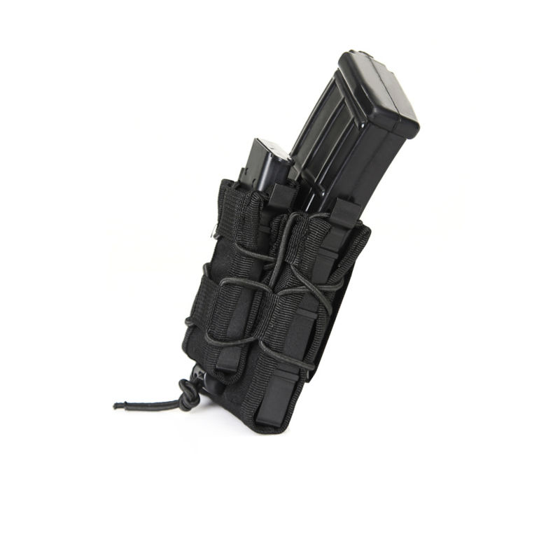 AA Shield Modular Rifle and Pistol Mag Pouch Double Decker Magazine Pouch Tactical Gear Hunting Mag Bag Black mag 200 в киеве