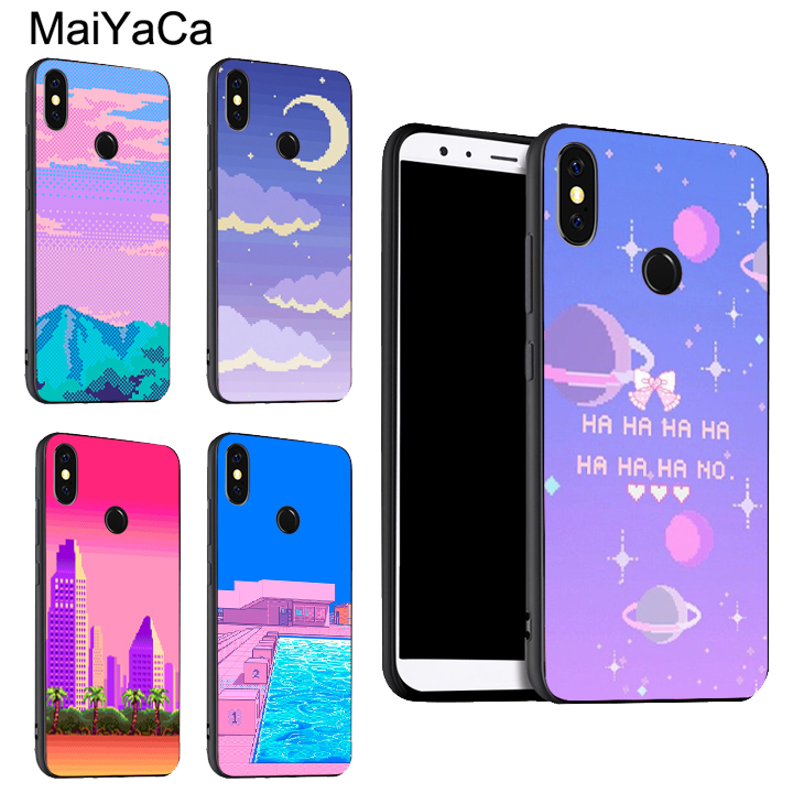 Maiyaca Girly Pastel Witch Goth Novelty Black Soft Case For Xiaomi 6 6plus 6x 8 8se Mi Note2 3 Redmi Note 4 5 Redmi5 5plus Cellphones & Telecommunications