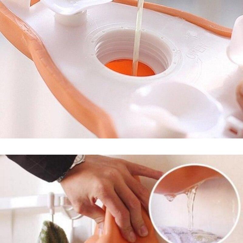 JPZYLFKZL Creative Funny Nose Shower hand sanitizer Gel Soap Shampoo Dispenser Liquid Soap Bottle Case bathroom accessories