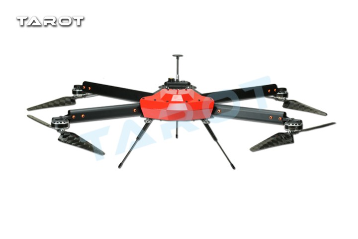 Tarot Peeper I Drone 750mm FPV Quadcopter Frame 4 Axis UAV Phantom UFO with Propeller Motor ESC Power Distributor TL750S1 F19370 16pcs 8 pairs 10 blade propeller 1045 brushless motor for qav250 dron drones drone frame parts kit fpv quadcopter frame