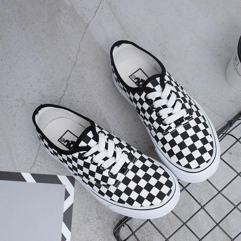 Light Negro Casual Vulcanizar Blanco Mocasines Del Talón Hombres Plano De Lona Mujeres Black Enrejado Moda Y Amantes Zapatos white 6qHwZP