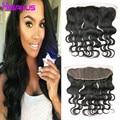 Brazilian Body Wave Frontal 13x4 Lace Frontal Weave Brazilian Virgin Hair Frontal Closure Ear To Ear Lace Frontal Closure 1B#