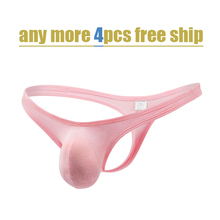 Modal male thong ultra-thin breathable mens sexy t comfortable underwear ding pants