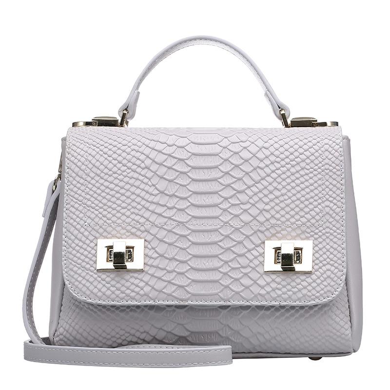 2016 new style women Genuine leather Crossbody Bag Crocodile Bag Fashion Softhand font b HandBag b