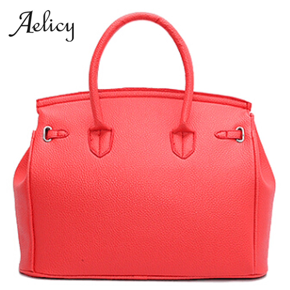 Aelicy luxury high quality pu leather bag female woman designer bags leather belt bag women casual tote crossbody bags for women