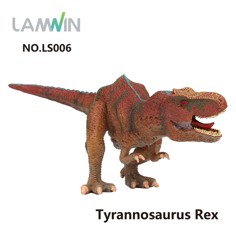 Lamwin Figure Toys Jurassic World Park Tyrannosaurus Rex Dinosaur Toy Model Action Figure 7 Types lamwin 6pcs lot large dinosaur toy collection set jurassic world park hollow model figure free gift dinossauro egg