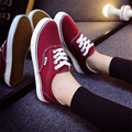Женщины и Мужчина Повседневная Обувь Женская Скейтборд Холст Обувь Кроссовки Обувь Женская Квартиры Chaussure Femme Корзина Размер 35-43