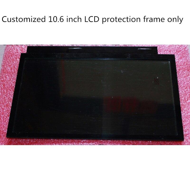 1 pcs personnalisé cadre pour 10.6 pouce 1920*1080 1080 p LCD bricolage projecteur kit écran prévenir lcd de dommages et empêcher la lumière fuite