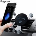 Автомобильное крепление, устанавливаемое на вентиляционное отверстие в салоне автомобиля мобильный телефон держатель для iPhone X 8 Samsung униве...