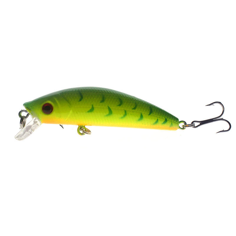 1PCS 7cm 7.5g Minnow Lure Sea Fishing Tackle Fishing Kit Hard Bait Jig Wobbler Plastic Lure Fishery Feeder Fishing Lure wldslure 1pc 54g minnow sea fishing crankbait bass hard bait tuna lures wobbler trolling lure treble hook