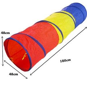 Image 2 - ขายร้อนเด็กของเล่น Crawling อุโมงค์เด็กกลางแจ้งในร่มหลอดของเล่นเด็กเล่น Crawling เกมเด็กที่ดีที่สุดของขวัญ