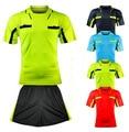 Benwon-fair play árbitro de futebol profissional jerseys sports clothing suit define juiz árbitro de futebol kits de futbol camisas