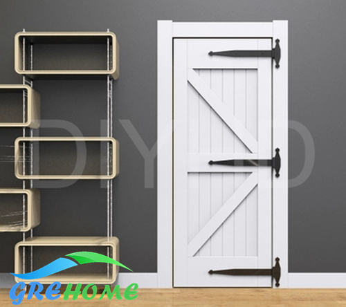 Black Barn Door T Hinge Extra Large Wooden Door Hinge Winery Garage Door  Wooden Door Large Hinged Hinge In Door Hinges From Home Improvement On ...