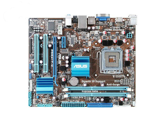 100% original Desktop Boards Free shipping motherboard ASUS P5G41T-M DDR3 LGA 775 free shipping msi original zh77a g43 motherboard ddr3 lga 1155 for i3 i5 i7 cpu 32gb usb3 0 sata3 h77 motherboard