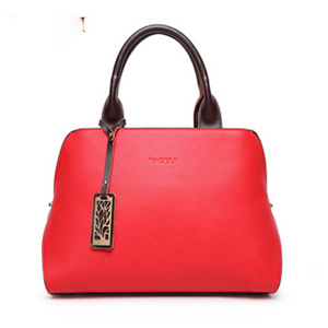 XIYUAN BRAND women real cow Genuine Leather red white black hot pink yellow Shoulder Crossbody Bags