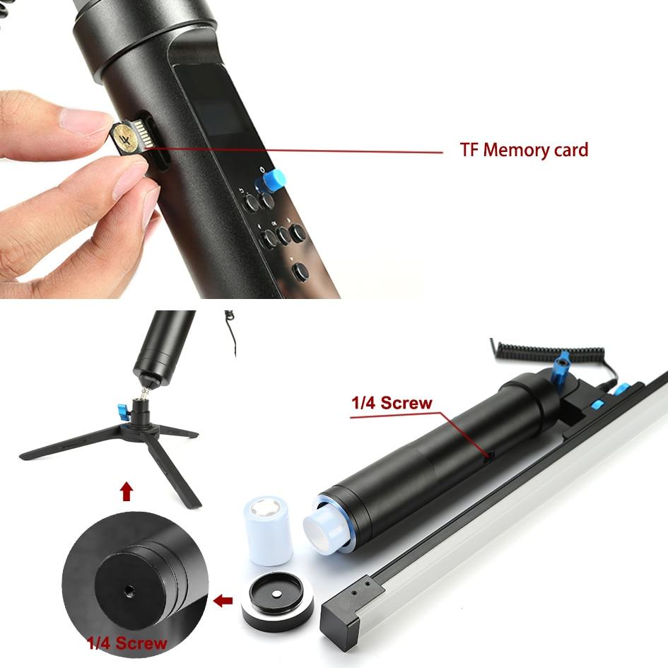 144 LEDs licht De All In One Light Remote Magic Light Flash Plot Stok Schilderij Tool Animatie Blink voor Fotografie CD30 - 5