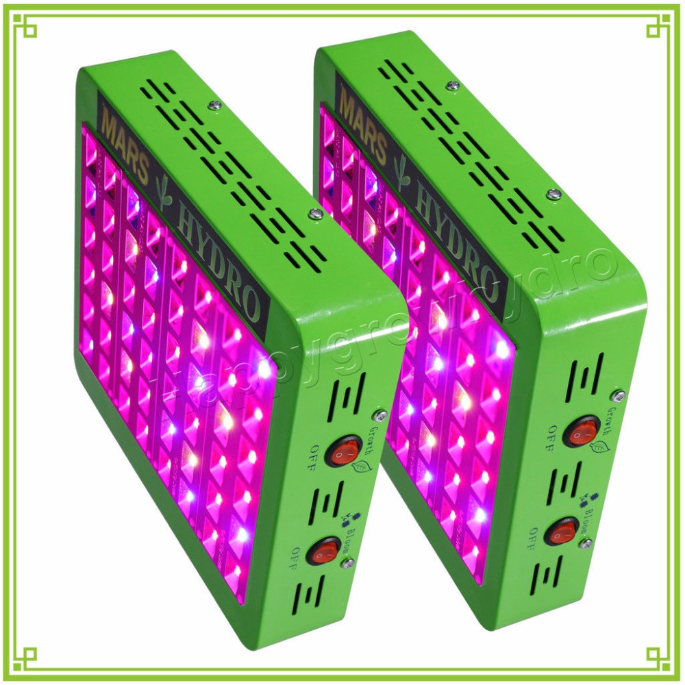2PCS MarsHydro Reflector 240W LED Grow Light Lamp Full Spectrum Veg Bloom Lamp for Indoor Medicinal Plants george varghese diana john and solomon habtemariam medicinal plants for kidney stone a monograph