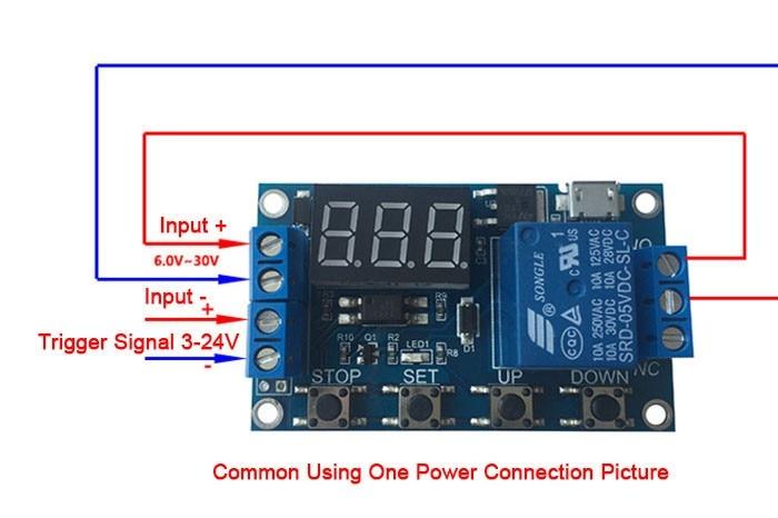 2Pcs Multifunction Delay Trigger Module Timer Timing 2S 1000H Timing Chip N vg