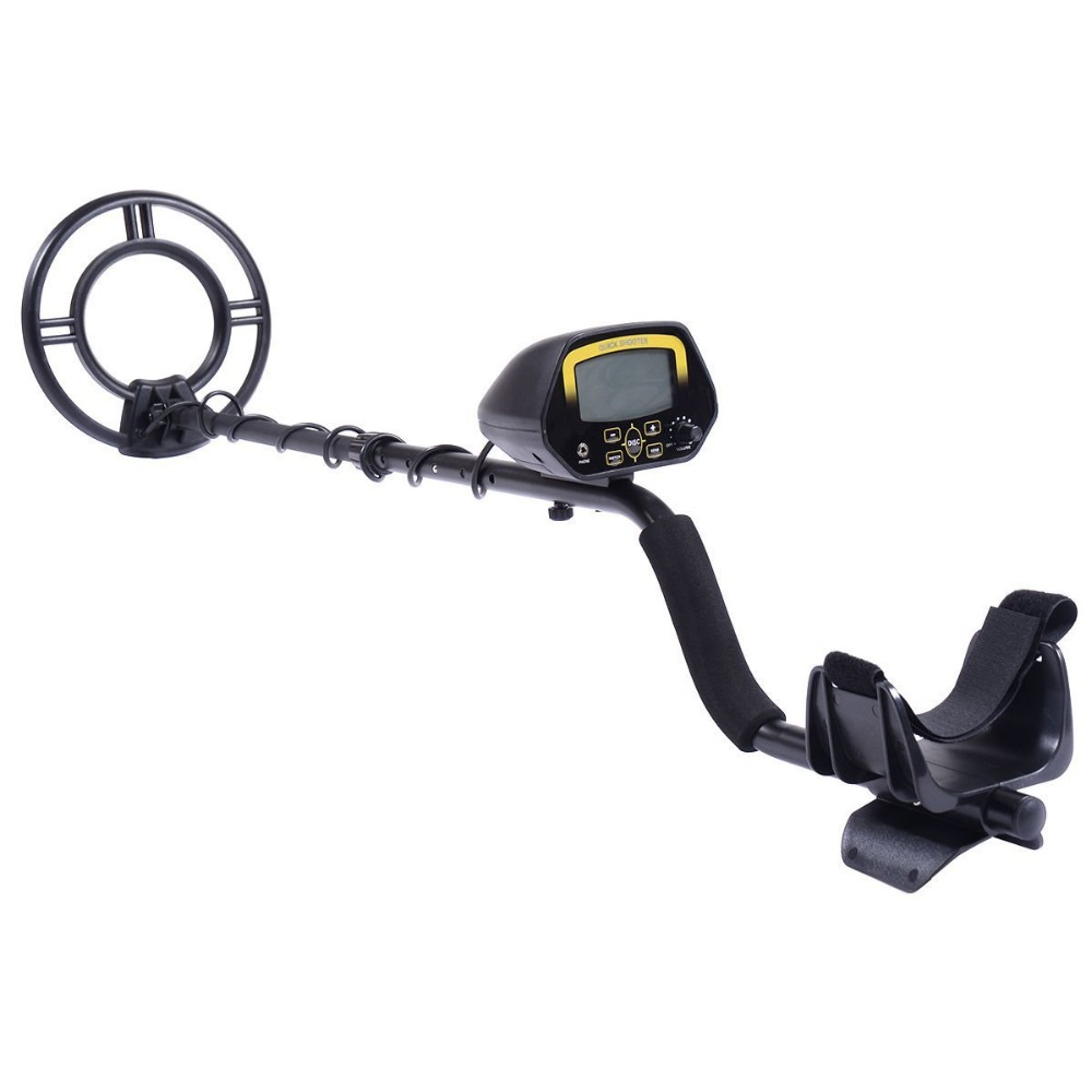 Professional Metal Detector Underground Treasure Hunter LCD Display Gold Finder Under Shallow Water Portable Lightweight