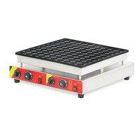 1 pcs High quality Square Waffle Maker Machine 100 pz 110 v /220 v Electric Dutch Mini Pancake Machine NP 545