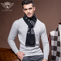 2016 New Men's Scarf High-grade Wool Cashmere Scarf  Warm Male Birthday Gift Box Christmas New Year Gift B-3831