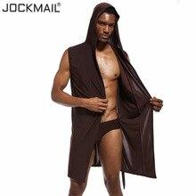JOCKMAIL нейлон Ice Silk(искусственное волокно банные халаты для мужчин; Домашняя одежда, ночная рубашка, длинное платье, комплекты сексуальное кимоно Банный халат, мужские сексуальные спортивные шорты, пижамы, одежда для сна