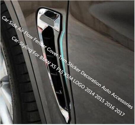 Auto Side Air Flow Fender cover Trim sticker decorazione auto accessori car-styling