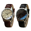 chaxigo Brand Men Leather Strap Watch Fashion Quartz Clock Male Luxury Business Wristwatch Military Watches Relogio Masculino