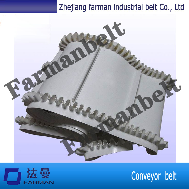 Wholesale White Food Grade Pu Conveyor Belt/white Pvc Conveyor Belt/Low Elongation Pvc white