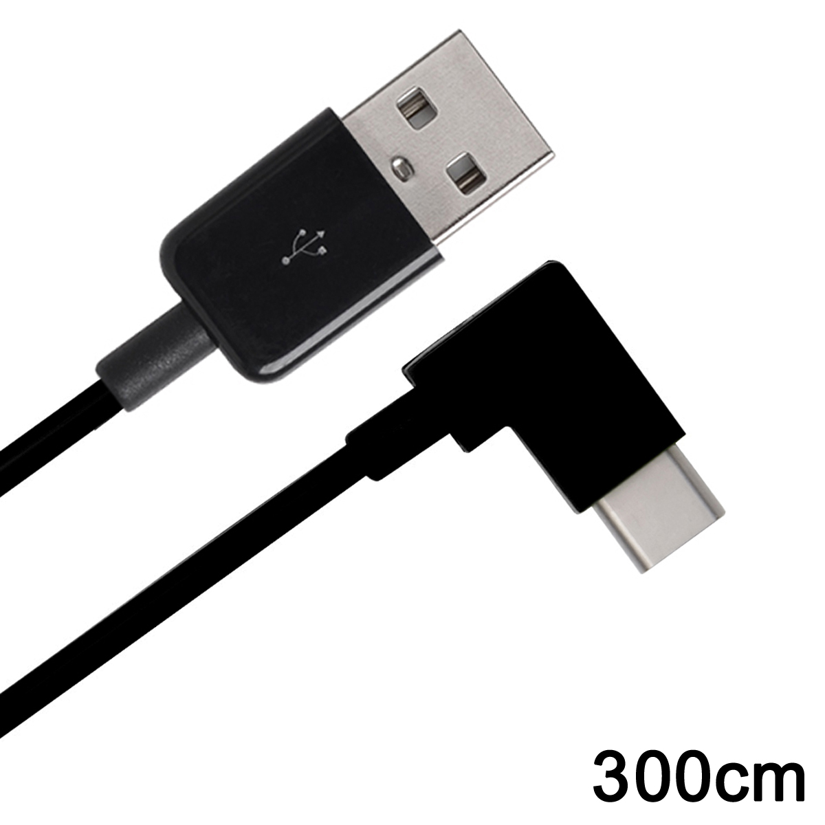 Right Angled USB 3.1 Type C USB-C to USB 2.0 Cable 90 Degree Connector for Tablet Mobile Phone 200cm,2m