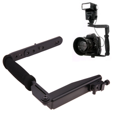 Camera Flash Bracket Aluminum metal Bracket Grip Camera Flash Arm Holder Stand 635 For digital camera TLR SLR