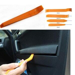 4 шт. Авто Радио панель дверь клип отделка тире для Dacia Duster Logan Sandero Stepway Lodgy Mcv 2 Dokker автомобильные Стайлинг Аксессуары