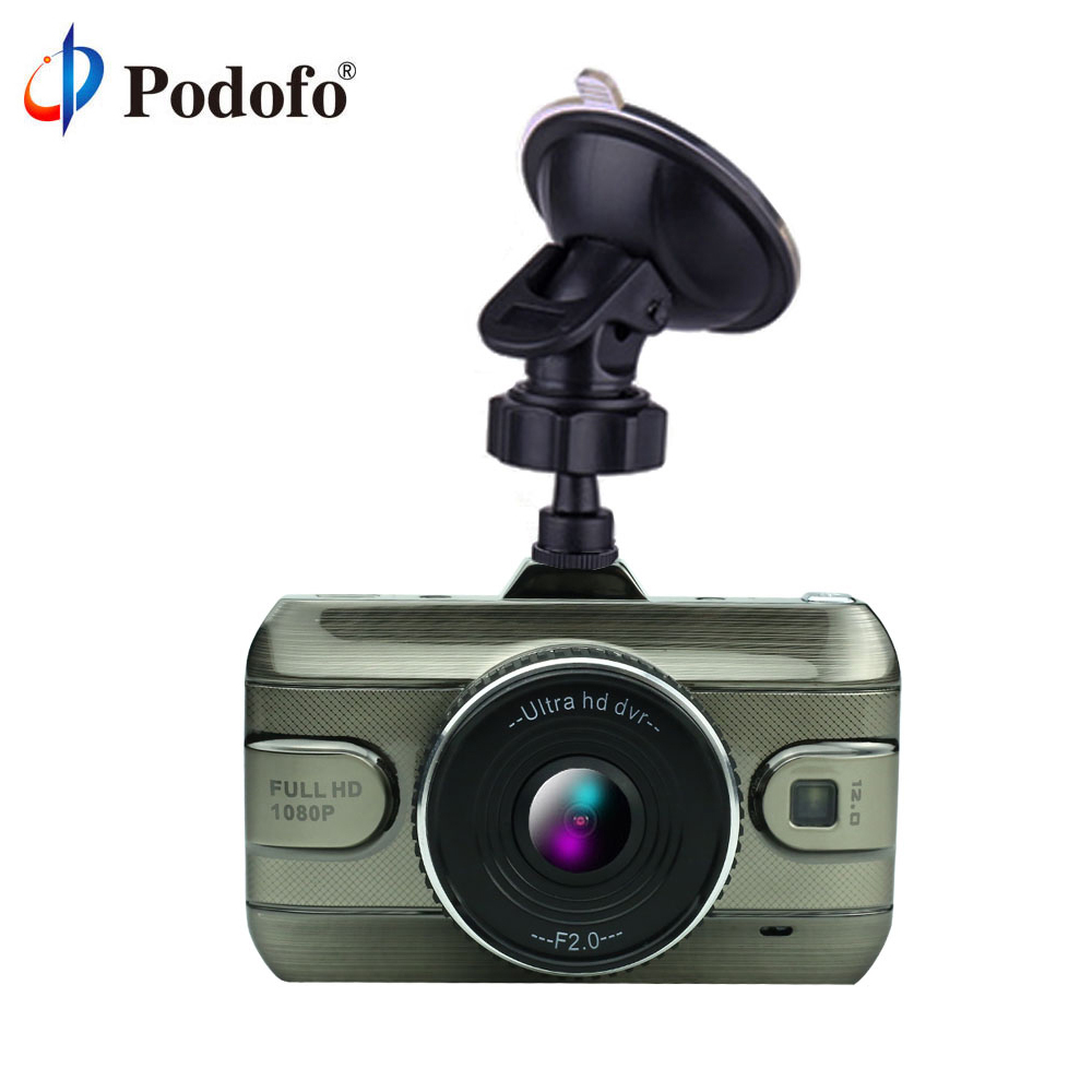 Podofo Full HD 1080P 3 0 inch Car DVR font b Camera b font Dash Cam