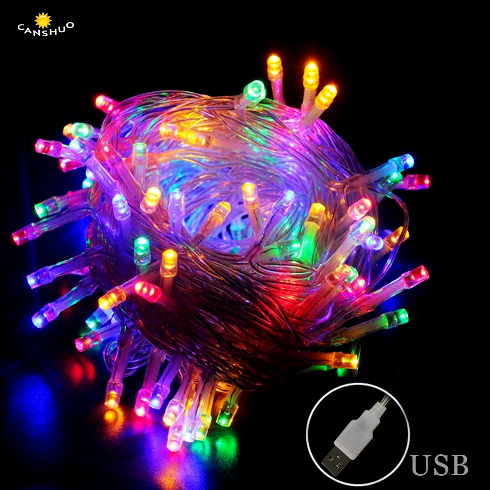 DC 5V USB Led light 2m/3m/5m/10m LED Fairy String Lights Waterproof for Holiday Christmas Wedding Party Decoration Garland Luces