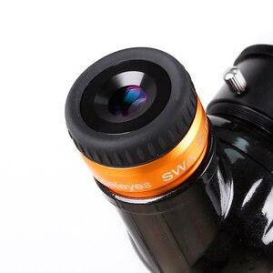 Image 2 - Angeleyes szeroki okular SWA 70 stopni bardzo szeroki kąt achromatic 1.25 cal teleskop akcesoria duża ogniskowa