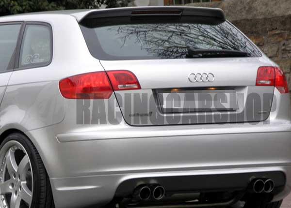 Real Carbon Fiber Roof Spoiler For Audi A3 8p Sportback 2005up A001 Spoiler Audi A3 Spoiler Audispoiler Carbon Fiber Aliexpress